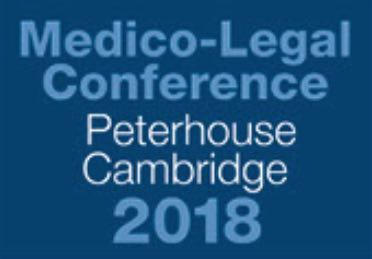 Dr Spencer co-organised the 2018 Medico-Legal Pain Conference, held on 28 September 2018 at Peterhouse College, Cambridge