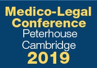 Dr Spencer co-organised the 2019 Medico-Legal Pain Conference, which was held on 27 September 2019 at Peterhouse College, Cambridge