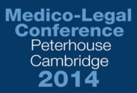 Dr Spencer co-organised the 2014 Medico-Legal Pain Conference, held on 26 September 2014 at Peterhouse College, Cambridge.