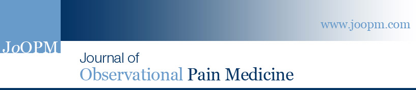 Dr Michael Spencer is Assistant Editor of the Journal of Observational Pain Medicine