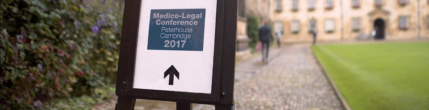 Dr Spencer co-organised the 2017 Medico-Legal Pain Conference, held on 29 September 2017 at Peterhouse College, Cambridge